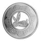 (W073.100.2011.BU&BE.COM1) 1 Dollar Année du Lapin 2011 Revers