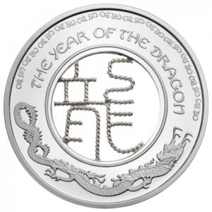 (W073.100.2012.BU&BE.COM1) 1 Dollar Année du Dragon 2012 Revers (zoom)