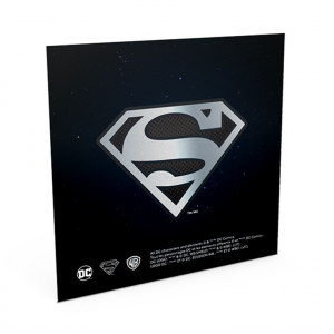 100 Dollars Superman 2017 - Argent BE (carte) (Verso) (zoom)