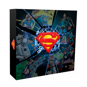 100 Dollars Superman 2017 - Argent BE (packaging) (zoom)