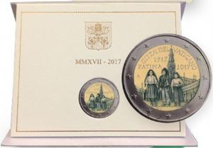 2 euro commémorative Vatican 2017 BU - Fátima (zoom)