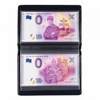 (349259) Album de poche Leuchtturm - Billets touristiques (ouvert)