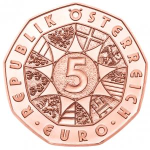5 euro Autriche 2017 - Agneau pascal Avers (zoom)