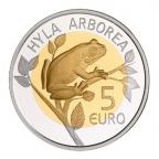 5 euro Luxembourg 2017 BE - Rainette verte