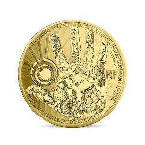 50 euro France 2017 Proof gold - Guy Savoy Obverse (zoom)