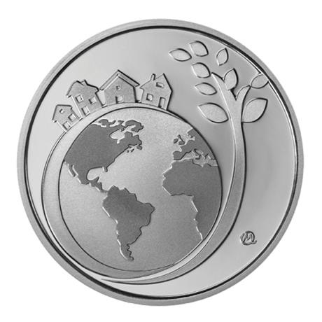 6 euro Grèce 2017 argent BE - Année Internationale du Tourisme Durable pour le Développement Revers