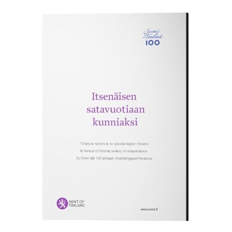 Coffret BE Finlande 2017 (packaging)