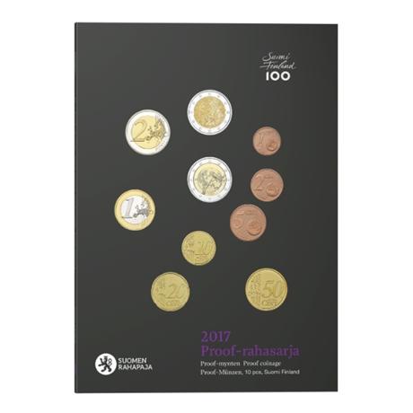 Coffret BE Finlande 2017