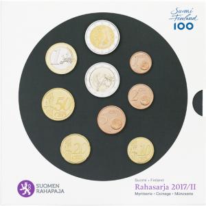 Coffret BU Finlande 2017 (9 pièces) (zoom)