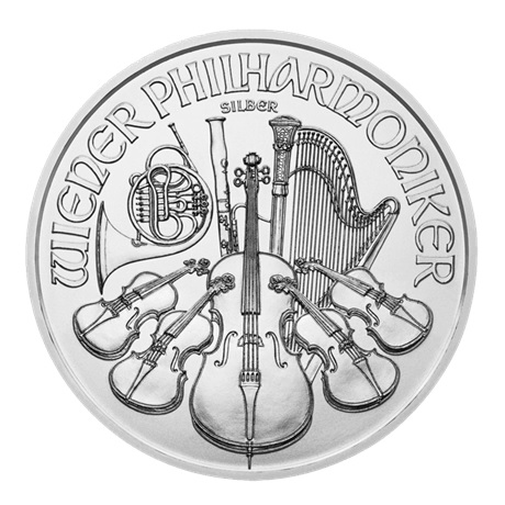 (EUR01.150.2015.21373) 1,50 euro Autriche 2015 1 once argent - Philharmonique Revers