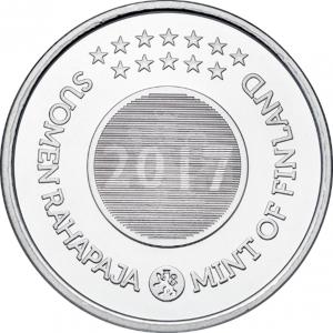 (EUR06.CofBU&FDC.2017.Cof-BU.7) Coffret BU Finlande 2017 - Noël (médaille) (Avers) (zoom)