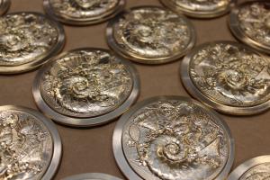 (FMED.Méd.MdP.CuZn6.-1.1) Médaille bronze florentin - IEOM (production) (zoom)