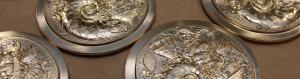 (FMED.Méd.MdP.CuZn6.-1.1) Médaille bronze florentin - IEOM (production) (zoom) (visuel supplémentaire)