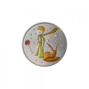 (FMED.Méd.souv._2017_.CuNi1) Jeton souvenir - Le Petit Prince, la Rose et le Renard Avers (zoom)