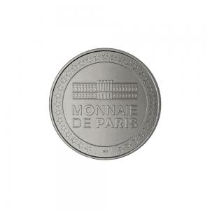 (FMED.Méd.souv._2017_.CuNi1) Jeton souvenir - Le Petit Prince, la Rose et le Renard Revers (zoom)