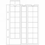 (MAT01.Alb&feu.Feu.306013) Feuilles Leuchtturm OPTIMA 27,00 mm