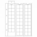 (MAT01.Alb&feu.Feu.315033) Feuilles Leuchtturm OPTIMA 20,00 mm