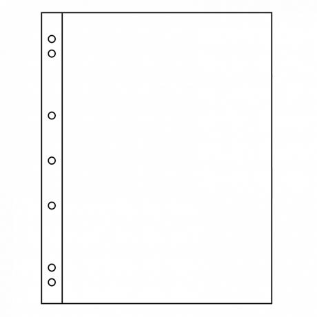 (MAT01.Alb&feu.Feu.336293) Intercalaires Leuchtturm NUMIS blancs