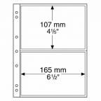 (MAT01.Alb&feu.Feu.338575) Feuilles Leuchtturm NUMIS 165,00 mm x 107,00 mm