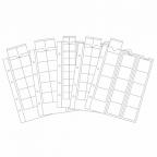 (MAT01.Alb&feu.Feu.340973) Feuilles Leuchtturm OPTIMA divers diamètres