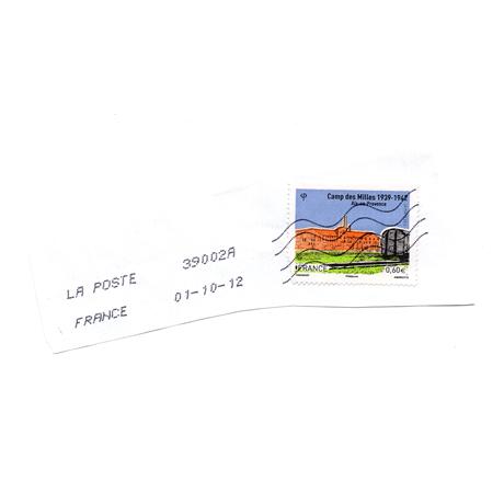 (PHILEUR07.060_20g.2012.11.2012_10_01.000000001) 0,60 euro France 2012 - Camp des Milles