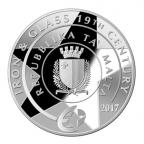 10 euro Malte 2017 argent BE - Jardin botanique d'Argotti Avers