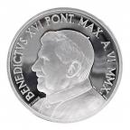 10 euro Vatican 2010 argent BE - Journée mondiale de la paix Revers