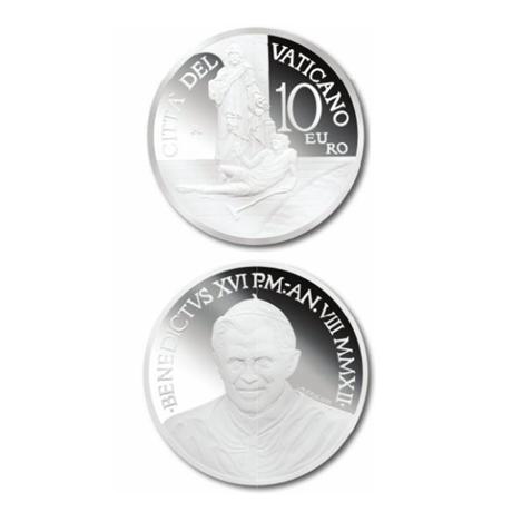 10 euro Vatican 2012 argent BE - Journée mondiale du malade