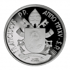 10 euro Vatican 2015 argent BE - Pape Jean-Paul II Revers