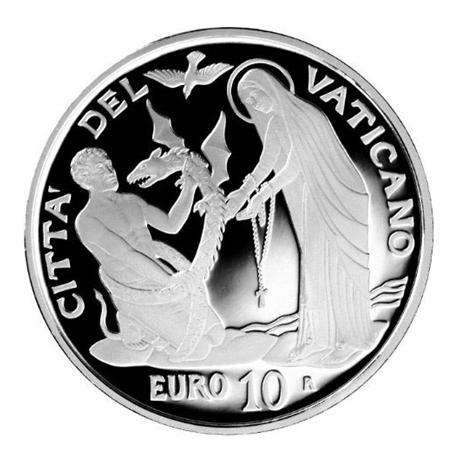 10 euro Vatican 2017 argent BE - Journée mondiale du malade Avers