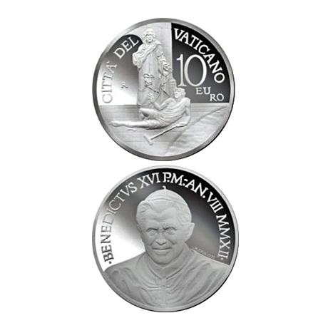10 euro Vatican City 2012 Proof silver - World Day of the Sick