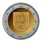2 euro commémorative Lettonie 2017 - Latgale
