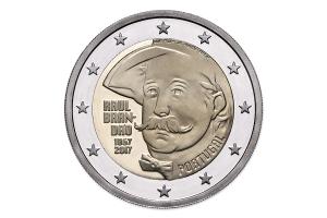 2 euro commémorative Portugal 2017 BE - Raul Brandão Avers (zoom)