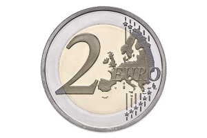2 euro commémorative Portugal 2017 BE - Raul Brandão Revers (zoom)