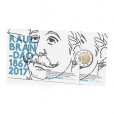 2 euro commémorative Portugal 2017 BE - Raul Brandão (packaging)