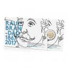 2 euro commémorative Portugal 2017 BE - Raul Brandão (packaging)