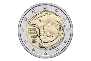 2 euro commémorative Portugal 2017 BU - Raul Brandão Avers (zoom)