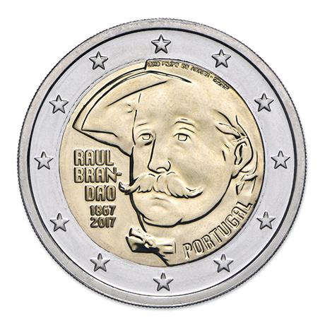 2 euro commémorative Portugal 2017 BU - Raul Brandão Avers