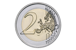 2 euro commémorative Portugal 2017 BU - Raul Brandão Revers (zoom)