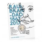 2 euro commémorative Portugal 2017 BU - Raul Brandão (packaging)