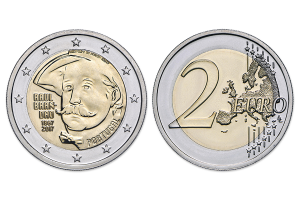 2 euro commémorative Portugal 2017 BU - Raul Brandão (zoom)