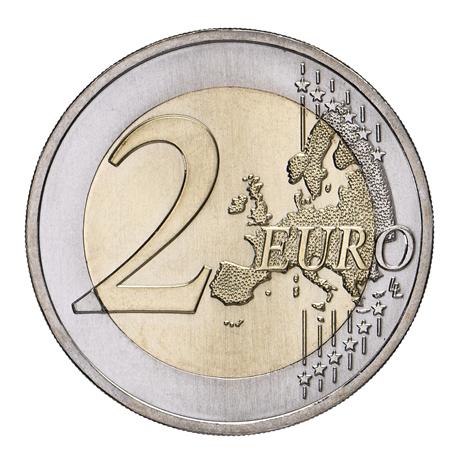 2 euro commémorative Portugal 2017 - Raul Brandão Revers