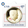 5 Florin 60th anniversary of the Arubian Red Cross 2017 (coinholder)