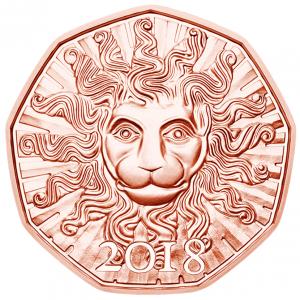 5 euro Autriche 2018 - La force du lion Revers (zoom)