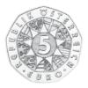 5 euro Autriche 2018 argent BU - La force du lion Avers