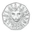 5 euro Autriche 2018 argent BU - La force du lion Revers
