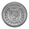 5 euro Chypre 2017 argent BE - Vasilis Michaelides Avers