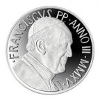 5 euro Vatican 2015 argent BE - Journée mondiale de la paix Revers