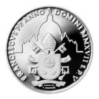 5 euro Vatican 2017 argent BE - Journée mondiale de la paix Revers