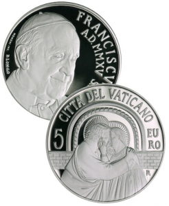 5 euro Vatican City 2015 Proof silver - Ordinary General Assembly of the Synod of Bishops (zoom)